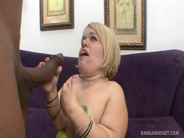 Midget blow job